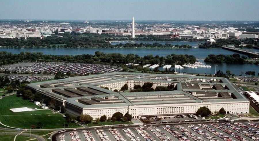 Det amerikanske forsvarsministerium, Pentagon, opkaldt efter den femkant, som bygningen udgør. Her kæmper man i øjeblikket mod en computervirus. Foto: Ken Hammond, U.S. Air Force