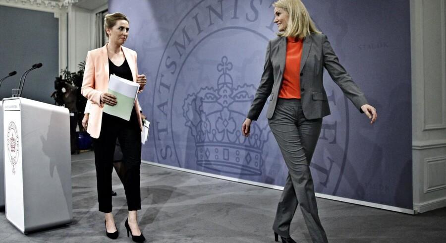 Uroen ulmer hos Socialdemokraterne med modstand mod beskæftigelsesminister Mette Frederiksens og statsminister Helle Thorning-Schmidts dagpengelinje.