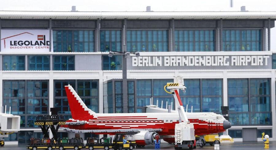 En model af den nye storlufthavn i Berlin blev præsenteret sidste år i marts.