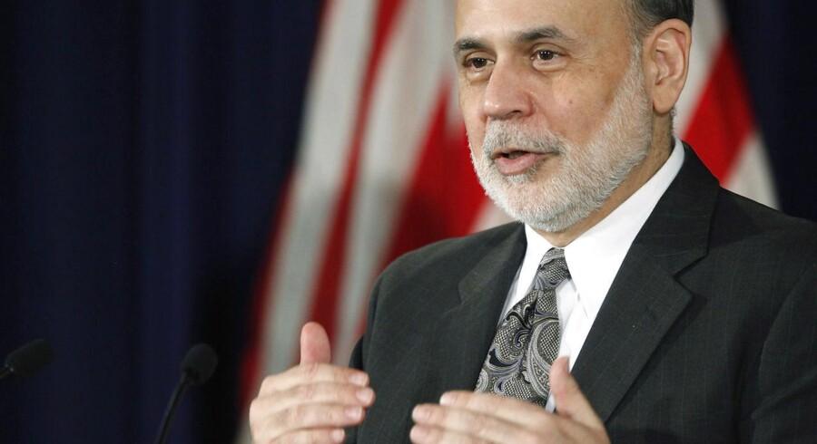 Ben Bernanke annonceringen onsdag aften, at han neddrosler QE3-programmet.