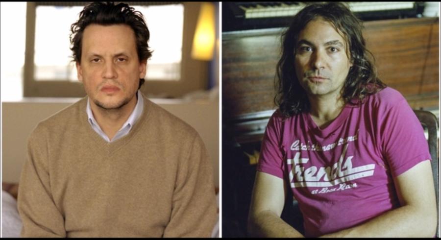 Mark Kozelek (tv.) fra Sun Kill Moon syntes at more sig kosteligt over at svine Adam Granduciels (th.) The War On Drugs til dette efterår.