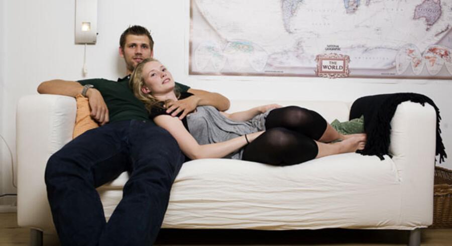 Sofaen her hedder Klippan. Hvad hedder du?