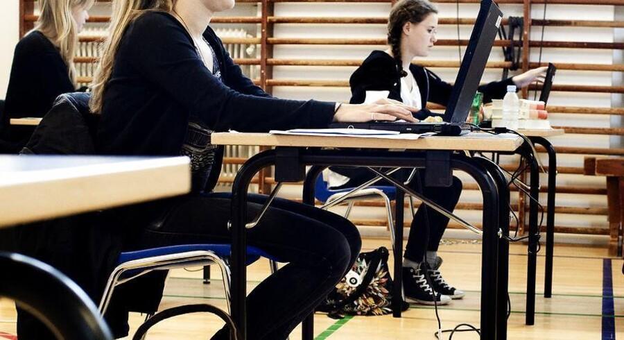 Fejl i det digitale system betyder, at folkeskolernes digitale biologi- og geografiprøver onsdag måtte aflyses.