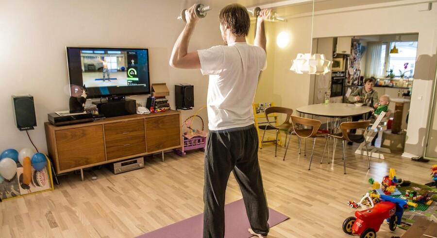 Fitness på Xbox'en - Thomas Conradsen