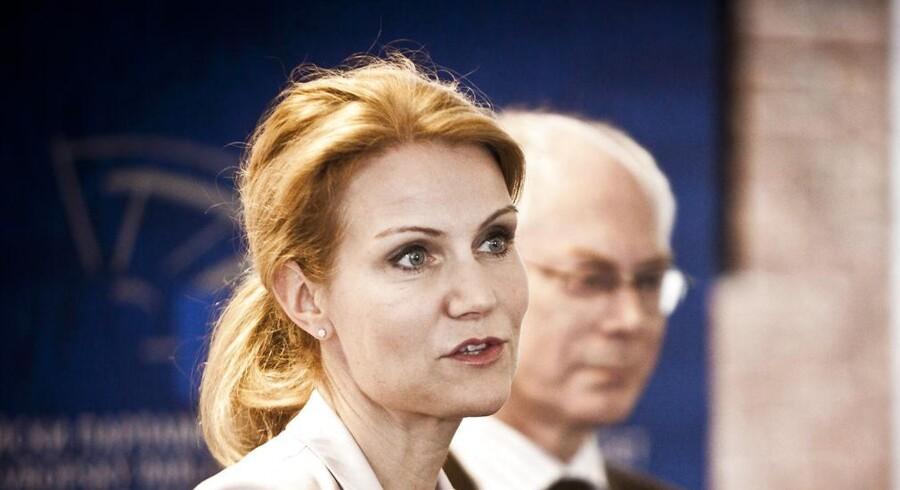 Herman van Rompuy skal afløses som formand for Det Europæiske Råd. Er Helle Thorning- Schmidt fortsat i spil?