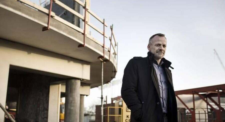 Robin Feddern er chef for Arkitektgruppen, der hører til Fyn, men som har 80 procent af sine byggeopgaver i hovedstadsområdet.