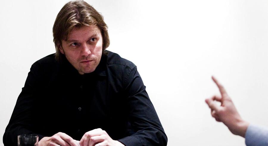 Jón Ásgeir Jóhannesson direktør for den islandske Baugur-koncern, som ejer bl.a. Magasin, Illums, Merlin, erhvervsbanken FIH, Atlas ejendomme, ejendomsselskabet Keops og gratisavisen Nyhedsavisen.