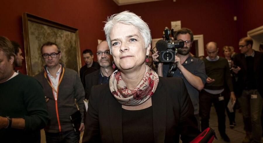 SF formand Annette Vilhelmsen