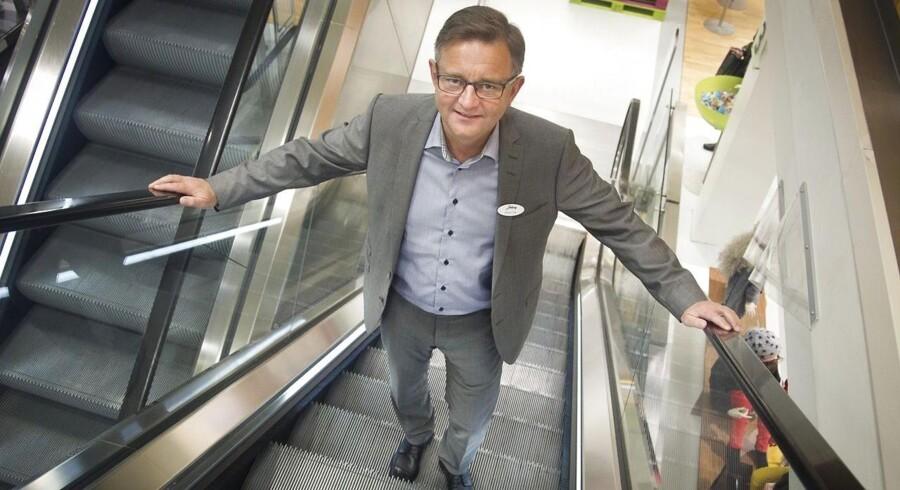 Henrik Libak vil som direktør for Salling satse på tre ben: De unge, web-shop og bedre service.