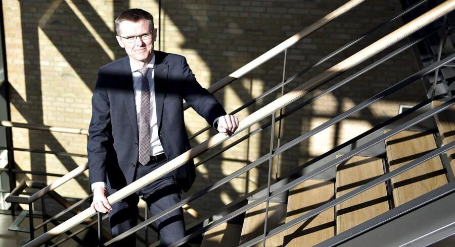 Adm. direktør Lasse Nyby kan glæde sig over rekordoverskud i Spar Nord