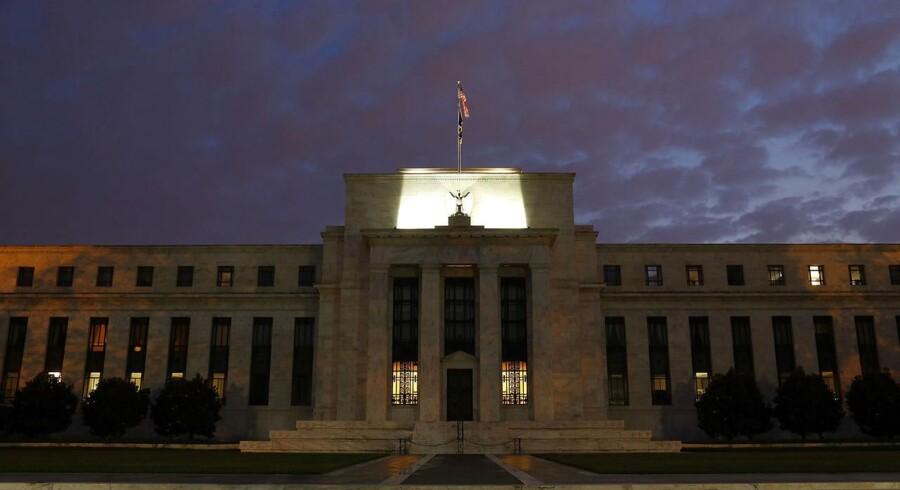 Federal Reserve, den amerikanske centralbank.