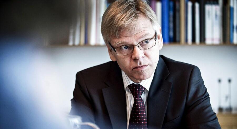 Adm. direktør i Dansk Industri, Karsten Dybvad er kommet i modvind i den danske sundhedsindustri efter et mislykket forsøg på at etablere en stærk brancheforening under DI.