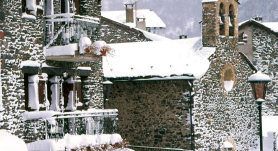 Masser af sne og ikke ret mange af dele den med. Velkommen til skiområdet Granvaleria i Andorra.