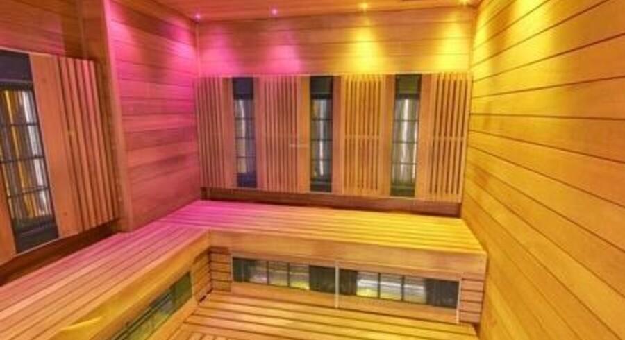 Infrarøde saunaer har for nylig fundet vej til en række københavnske svømmehaller. Her Frankrigsgade Svømmehal på Amager. Foto: Team Bade ved Københavns Kommune