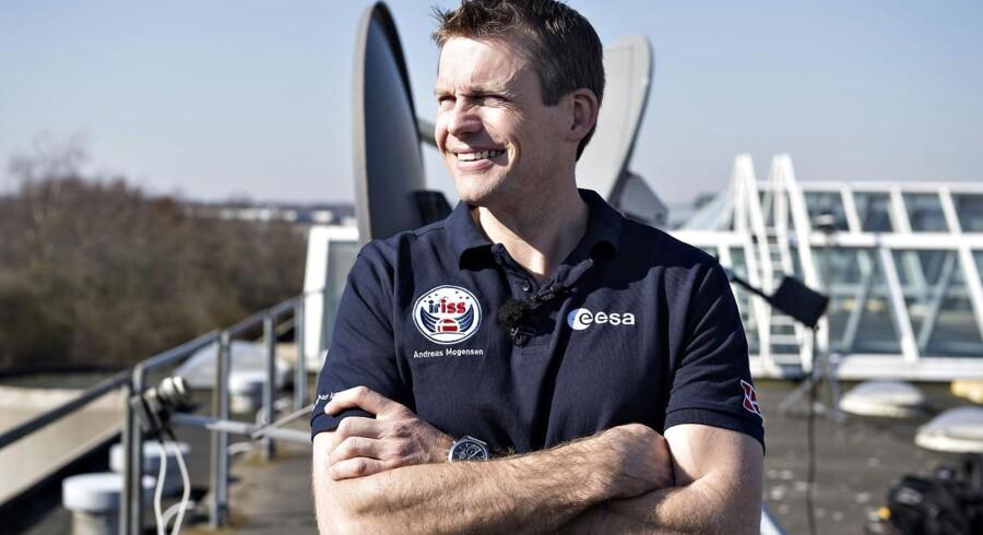 Danmarks første ESA-astronaut, den 38-årige Andreas Mogensen forbereder sig til at komme op i rummet til september.