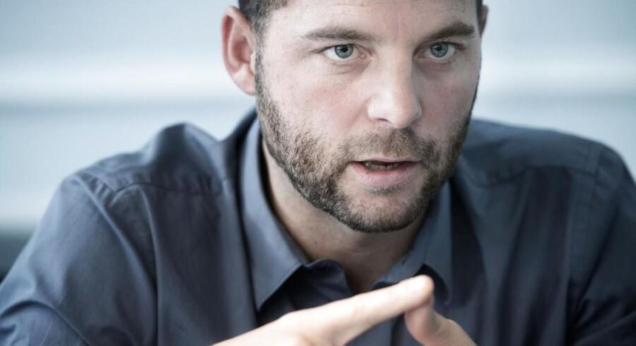 ATKIVFOTO. De Radikales leder, Morten Østergaard, glæder sig over, at 60-årige arbejder mere end hidtil.