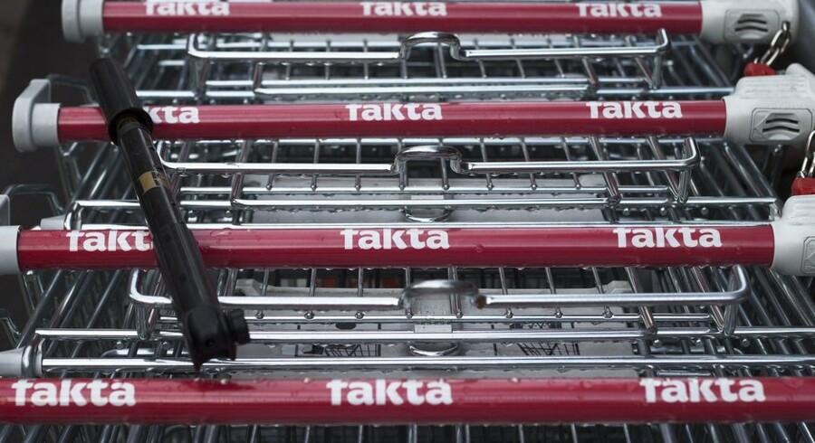 Trods udtalelser fra flere eksperter om, at der er for mange dagligvarebutikker i Danmark, får det ikke Fakta-chef Niels Karstensen til at ryste på hånden over at skulle åbne 30 nye butikker i løbet af de næste to år. Foto: Jonas Fogh