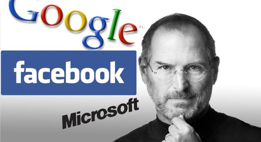 Steve Jobs så op til Facebook og Mark Zuckerberg, der ifølge Jobs var i stand til at bevare sin integritet ved ikke at sælge ud af sine ideer.