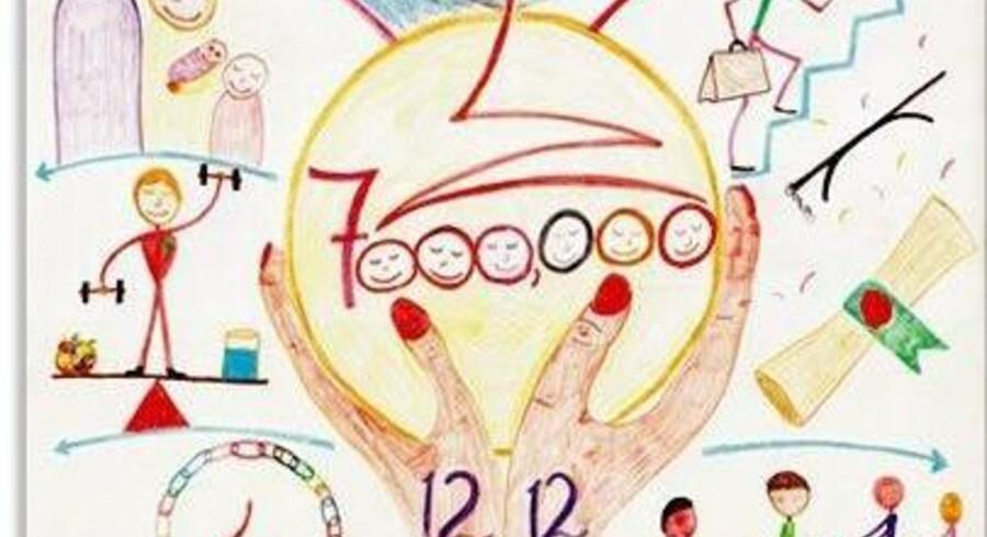 """Et eksempel på Brian Maynes """"Gold Mapping"""", hvor udgangspunktet er, at man skal tænke og drømme stort."""