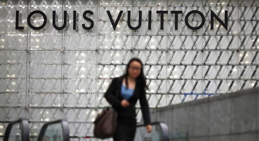 Luksusselskabet Louis Vuitton kom ikke helt i mål med 2014-regnskabet trods et overskud på 42.5 mia. kr.
