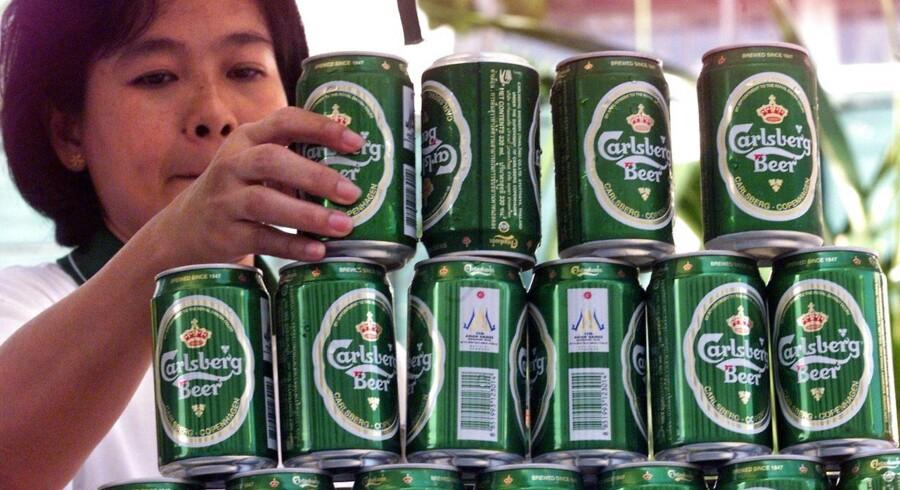 Carlsberg har ikke imponeret med sin asiatiske forretning i årets første halvår.