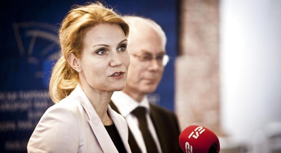 Helle Thorning-Schmidt får en travl onsdag.