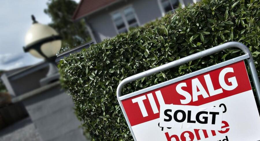 Efter store prisfald på boligmarkedet står mange mennesker i en vanskelig situation ved skilsmisse.