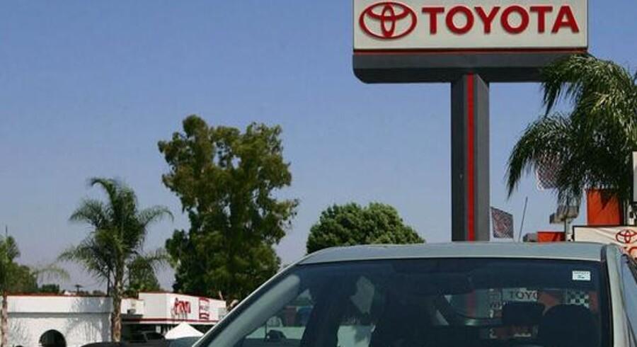 Toyotas el- og hybridbiler skal alle på nettet, så man f.eks. bedre kan styre strømregningen. Foto: David McNew, AFP/Scanpix