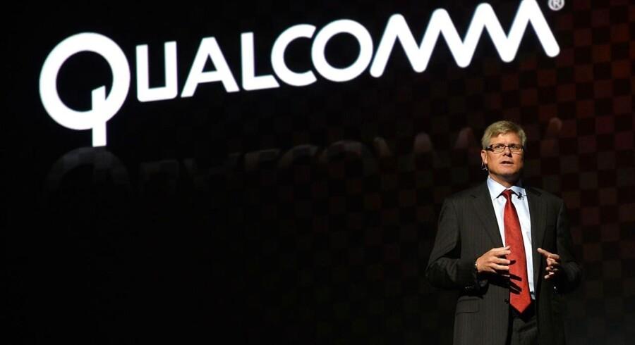 Steve Mollenkopf overtager til marts ledelsen af Qualcomm, som er verdens største producent af mobilchips. Dermed forhindres han i at stå i kø til det ledige topjob hos Microsoft. Arkivfoto: Emmanuel Dunand, AFP/Scanpix