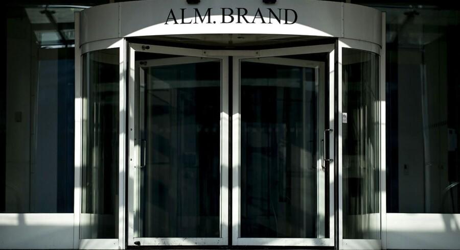 For 2015 ventes et overskud før skat på 200-300 mio.kr hos Alm. Brand.