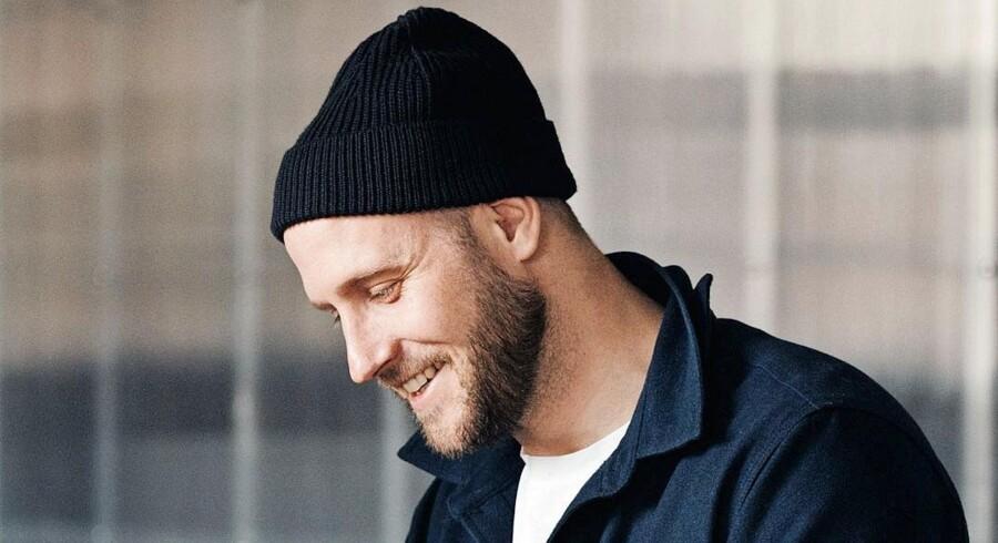 Jeppe Christensen fra firmaet Reform er lige flyttet hjem fra New York og er i gang med at indrette en lejlighed på Vesterbro.