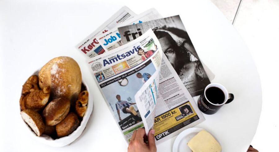 Annonceudviklingen bør give grund til bekymring i den danske mediebranche.