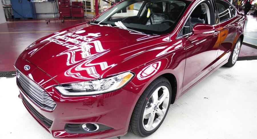 Bilgiganten Ford Motor Companys overskud steg 44 pct. i andet kvartal på grund af efterspørgslen på bilproducentens nye pickup F-150.