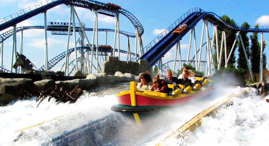 Djurs Sommerland åbner sæsonen med en ny forlystelse som denne: En water coaster.