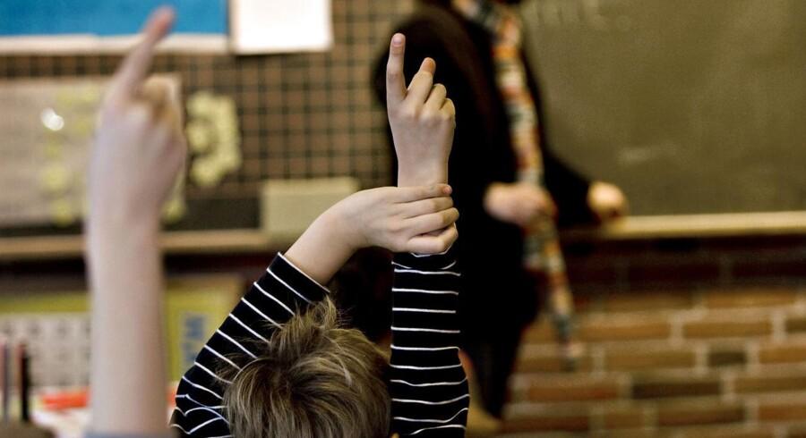 ARKIVFOTO. Eleverne i folkeskolen mener i høj grad, at skolen ikke bliver bedre, når de vender tilbage efter sommerferien, hvor folkeskolereformen er blevet gennemført. (Foto: Steffen Ortmann/Scanpix 2013)