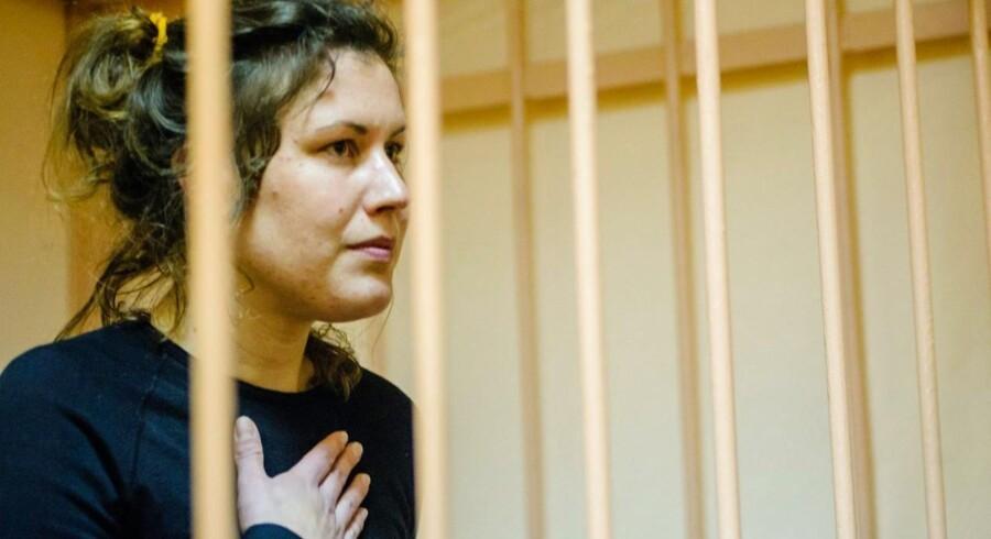 ARKIVFOTO. Anne Mie Roer Jensen under en høring i retten i Sankt Petersborg.