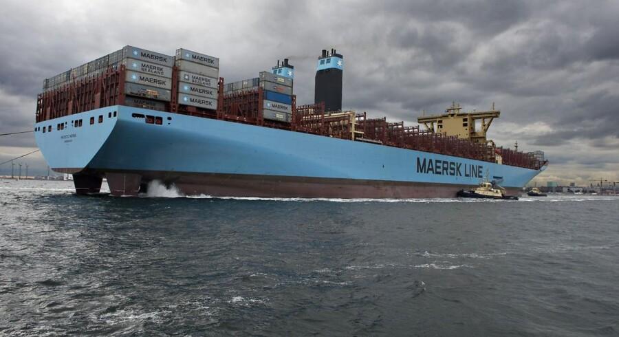 Skibet Majestic Mærsk forlader København den 30. september
