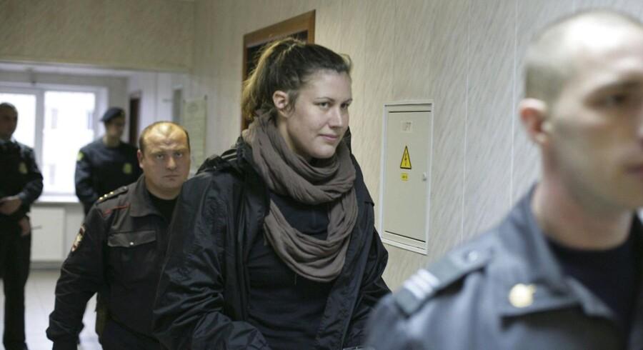 Den danske Greenpeace-aktivist, Anne Mie Roer Jensen, er nu sigtet for pirateri i forbindelse med en Greenpeace-aktion mod energiselskabet Gazproms olieboreplatforme i Arktis nord for Rusland for nylig.