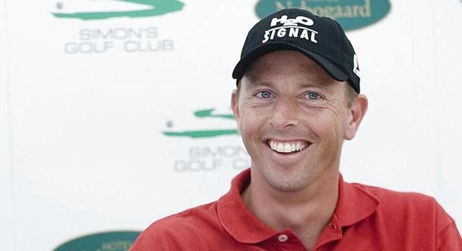Golfstjernen Søren Hansen blev i 2010 dømt for skattesvindel, den sag vil han nu have genoptaget. han har allieret sig med advokaten Michael Amstrup, der fik frifundet Camilla Vest - en afgørelse der nu har tvunget Skat til at gennemgå omkring 100 tidligere sager.