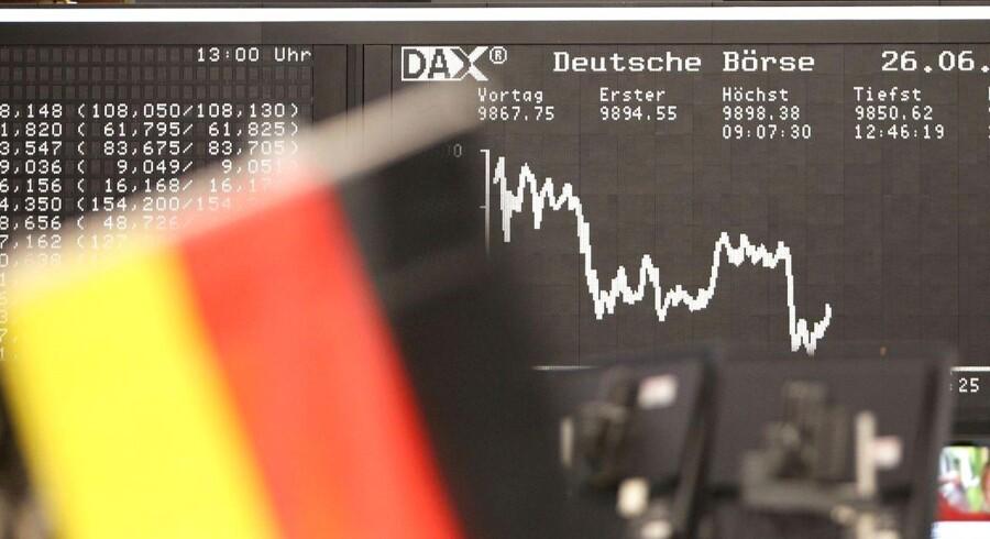 Det går bedre for den tyske økonomi.