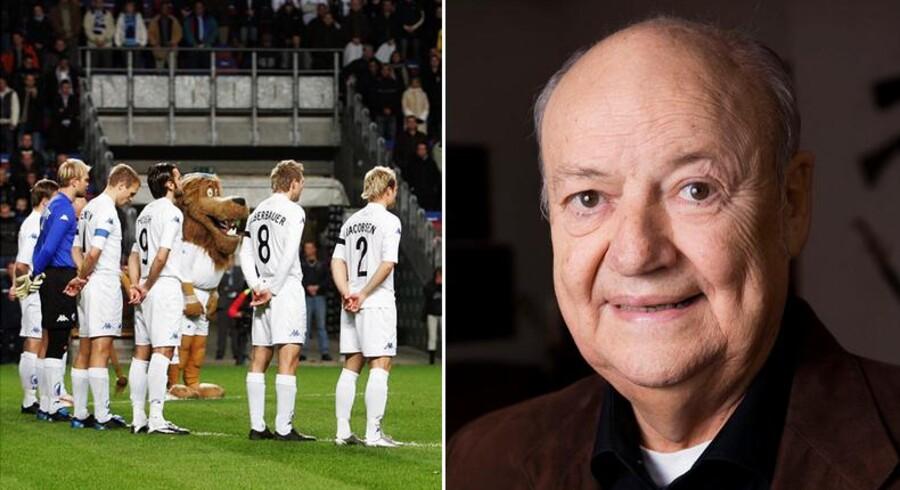 FC København vil i de kommende kampe mindes afdøde Harald Nielsen, der spillede en stor rolle i skabelsen af klubben.