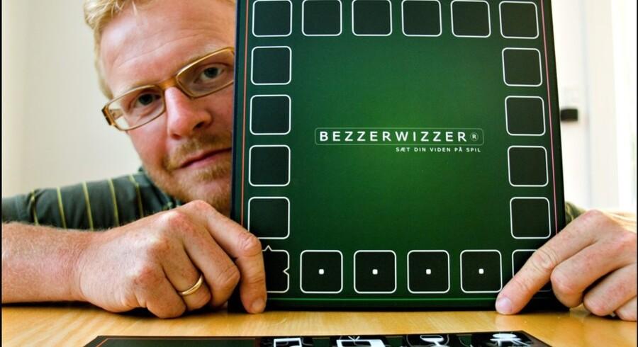 Trods 150.000 brugere lukker Bezzerwizzers ejer, Jesper Bülow, den digitale udgave af spillet for at koncentrere sig om den fortsatte udvikling af brætspillet. Arkivfoto: Morten Juhl