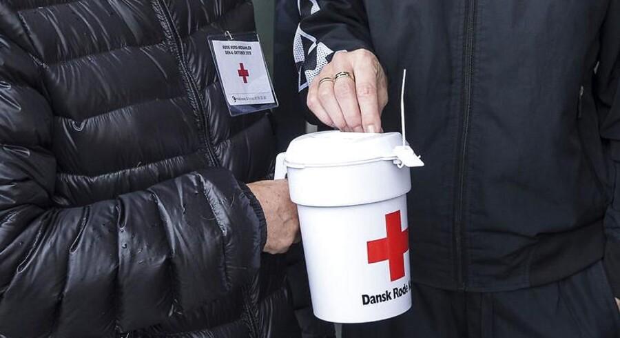 Røde Kors-indsamling i Videbæk