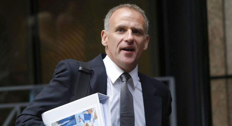 Den britiske dagligvaregigant Tesco landede onsdag et underskud på godt 60 milliarder kr. efter skat for 2014. Det er det største tab nogensinde i supermarkedskædens historie. Her ses selskabets topchef, der går under tilnavnet Drastiske Dave.