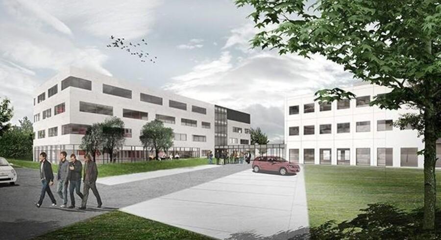 Gladsaxe bygger Skanska endnu et kontorhus til Alfa Laval.