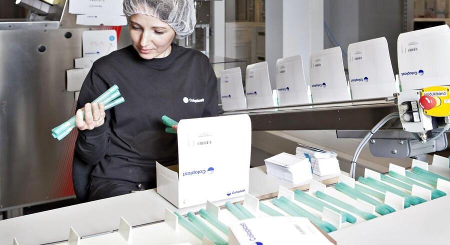 Coloplast har tre primære forretningsområder: stomi, kontinens og urologi, samt hud- og sårpleje.