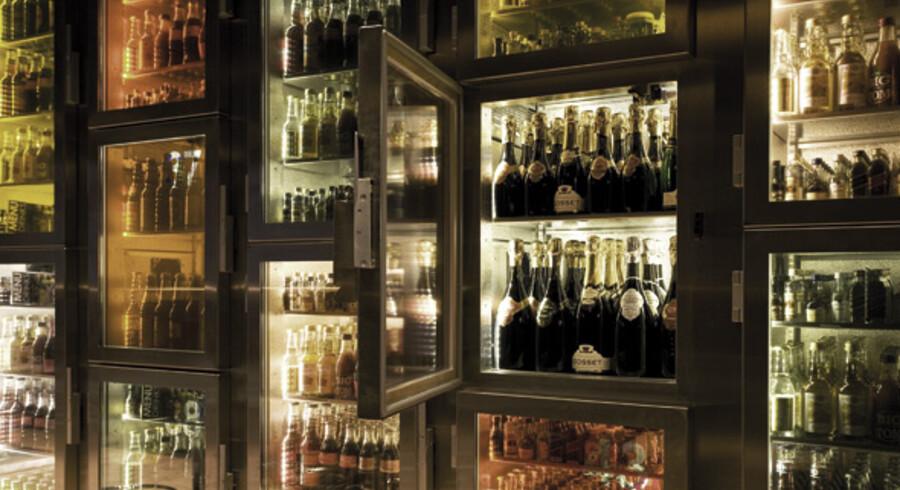 På MiNibar er der ingen traditionel bar - i stedet servicerer man sig selv fra sin egen minibar.