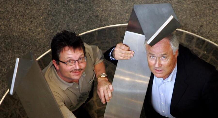 Steen Larsen (Steen Patrick Vela) og Flemming Østergaard.