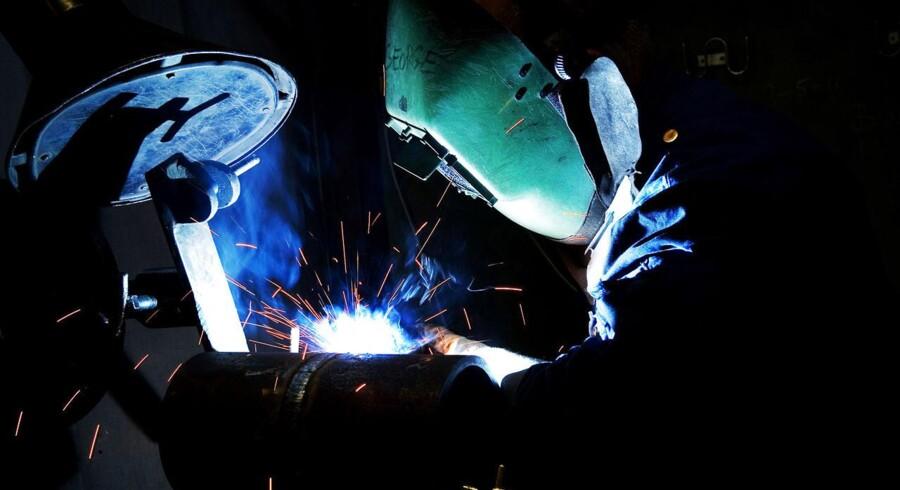 East Metal gør sig i stålarbejde som avanceret svejsearbejde. Arkivfoto: Flemming Krogh