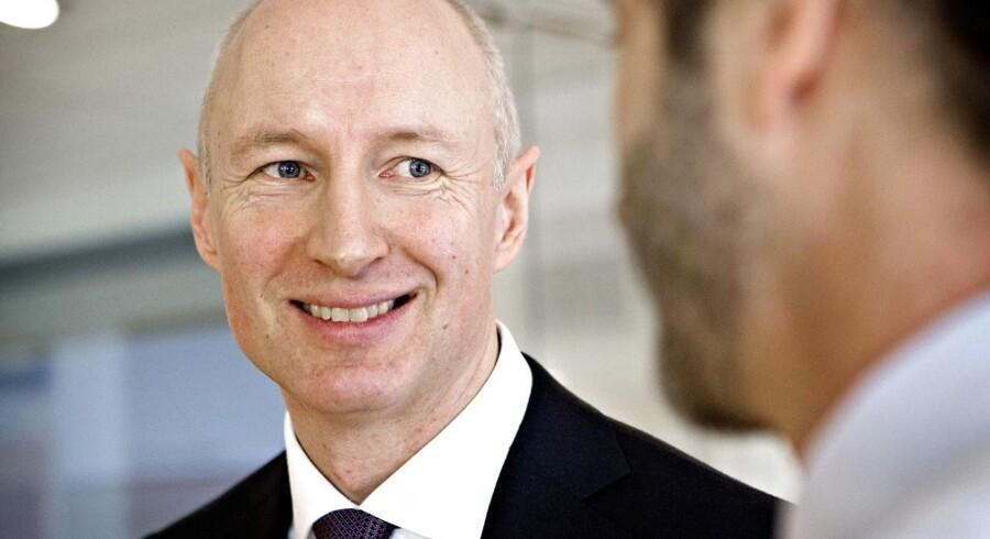 »Vi er åbne over for muligheder,« siger Lars Fruergaard Jørgensen, koncerndirektør for strategi og virksomhedsudvikling i Novo Nordisk.